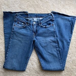 Lucky Brand dungarees jeans size 25/0